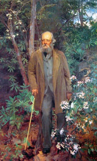 Frederick Law Olmsted Painting