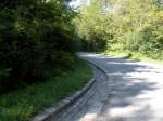 Macadam Path and Original Gutter
