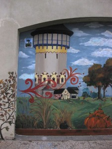 Mural Water Tower