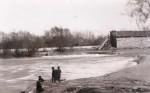 A break in the Fox-Forbes dam