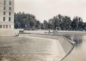 Horseshoe dam and Hofmann Tower