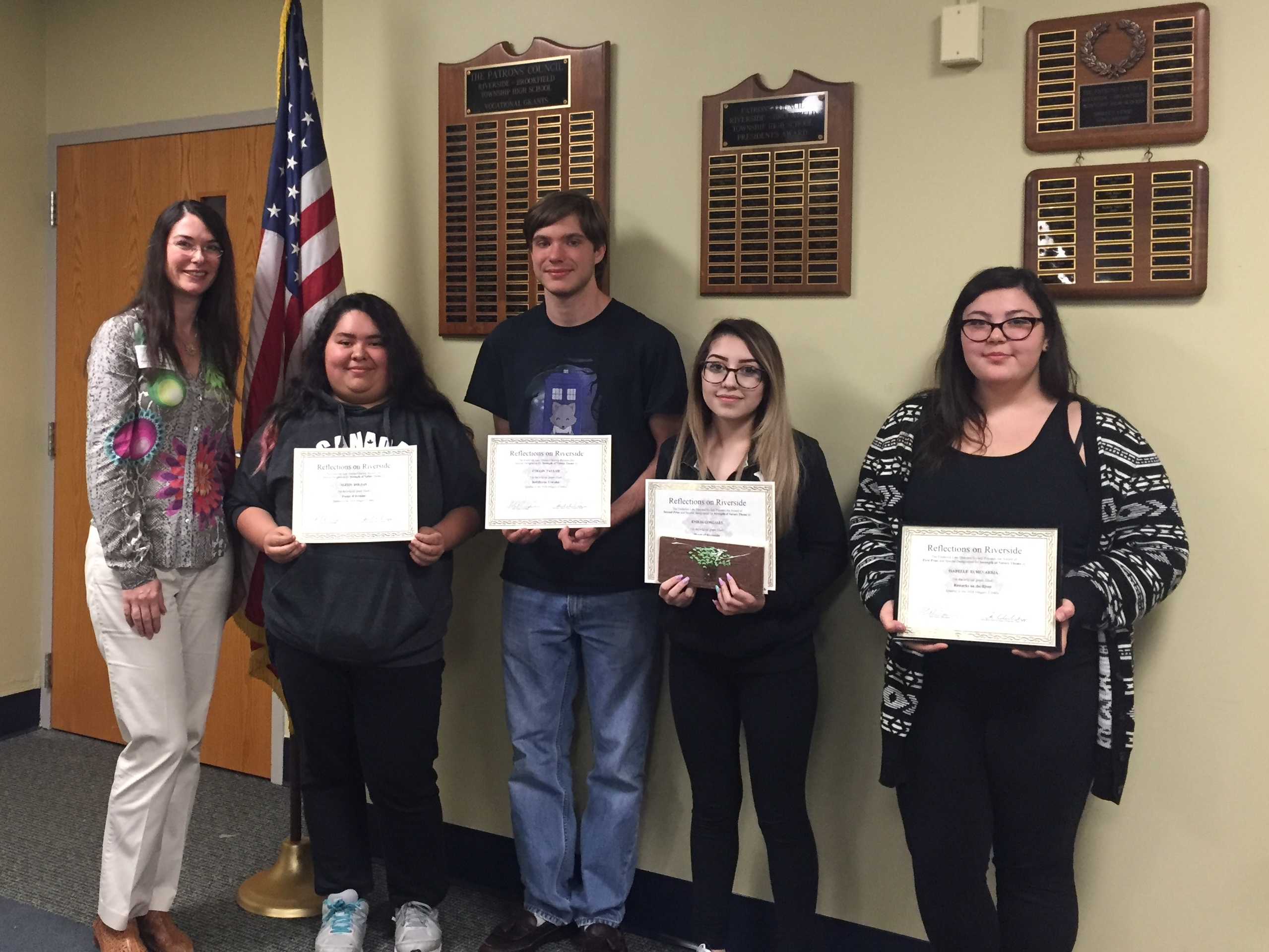 2016 RBHS Reflections on Riverside Poetry Winners