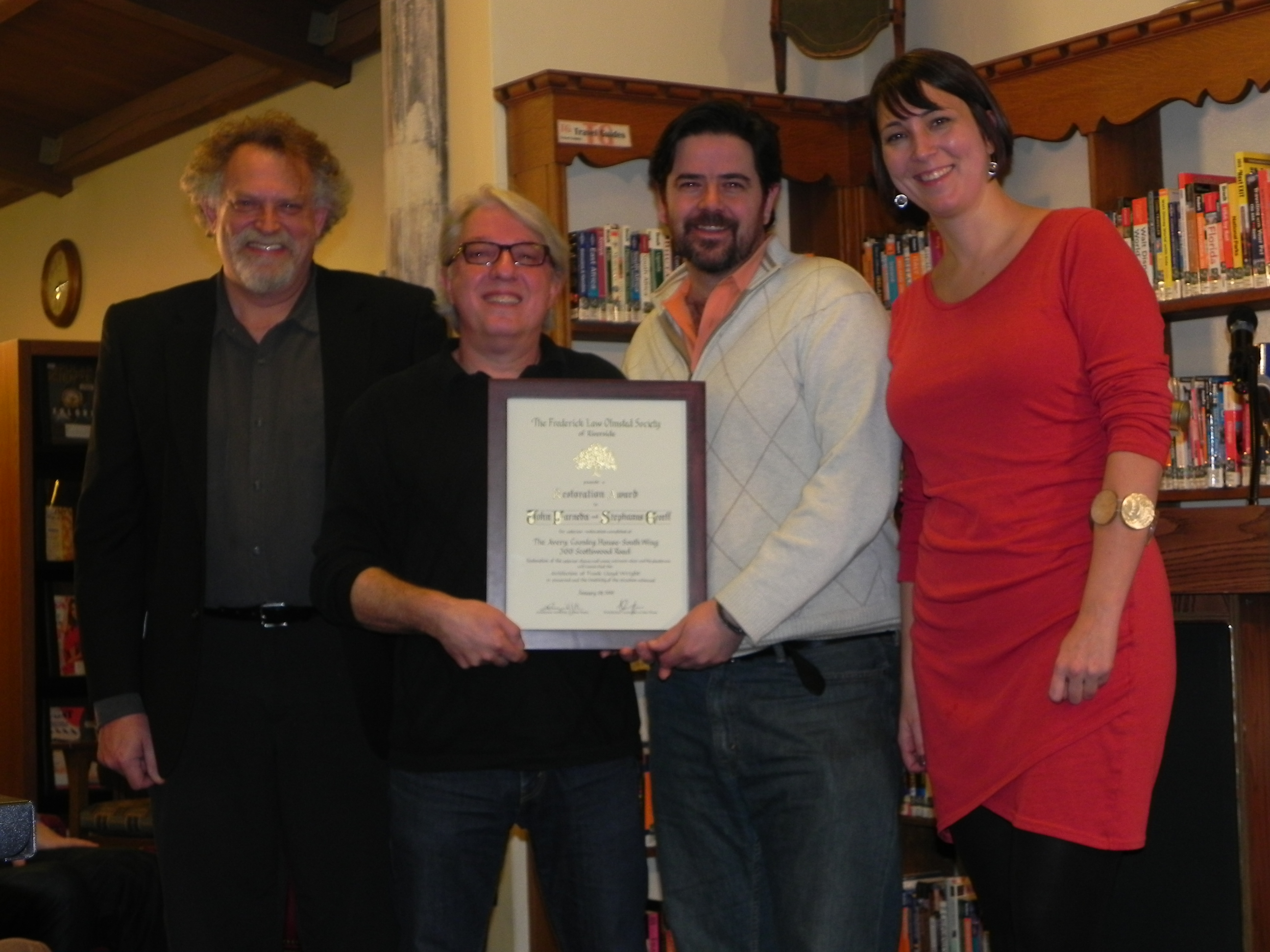 2017 Restoration Award Recipients
